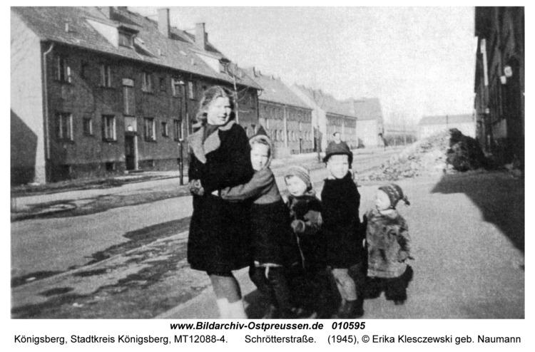 Königsberg, Schrötterstraße