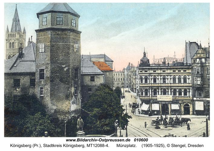 Königsberg, Münzplatz