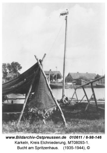 Karkeln, Bucht am Spritzenhaus