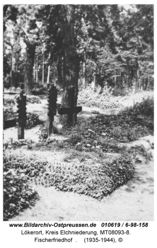 Lökerort bei Karkeln, Fischerfriedhof