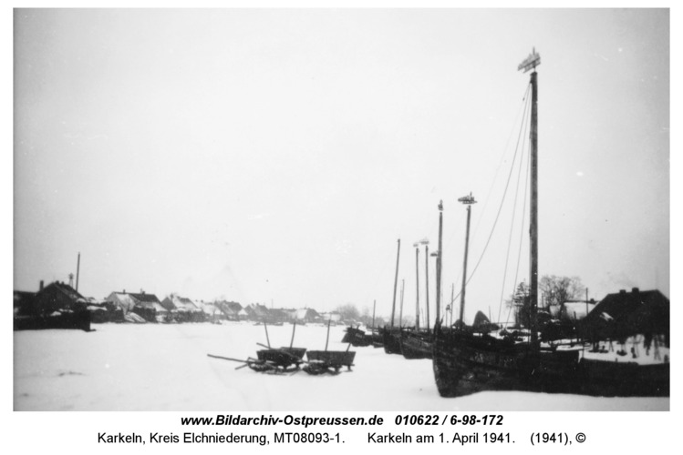 Karkeln am 1. April 1941