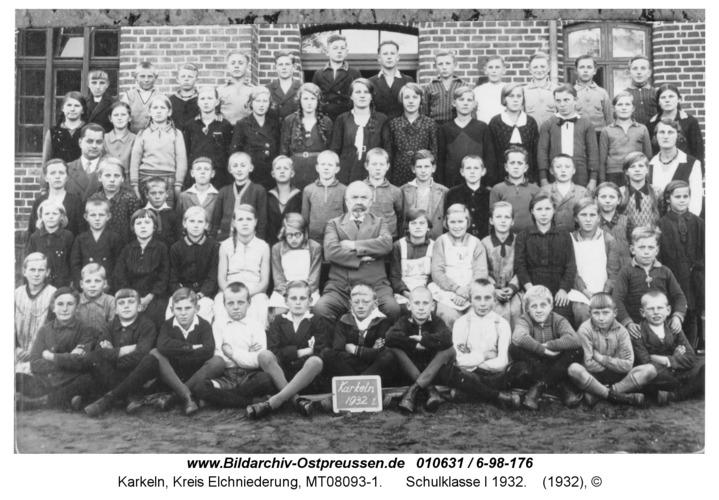 Karkeln, Schulklasse I 1932