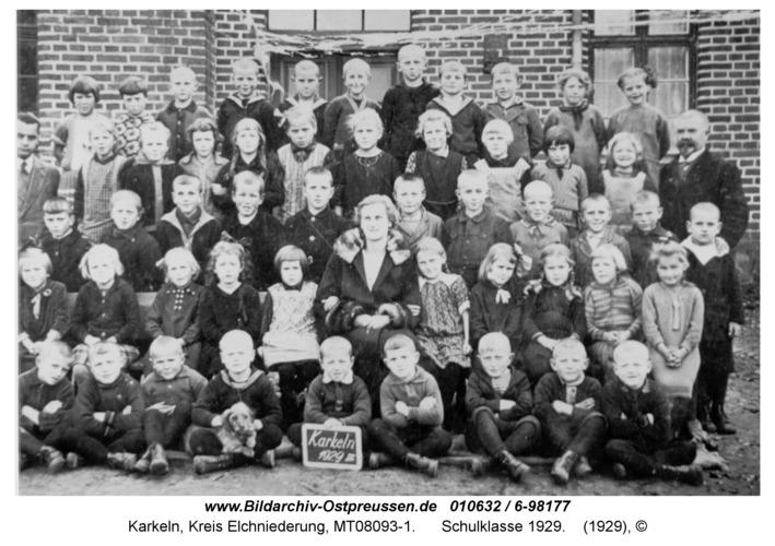 Karkeln, Schulklasse 1929