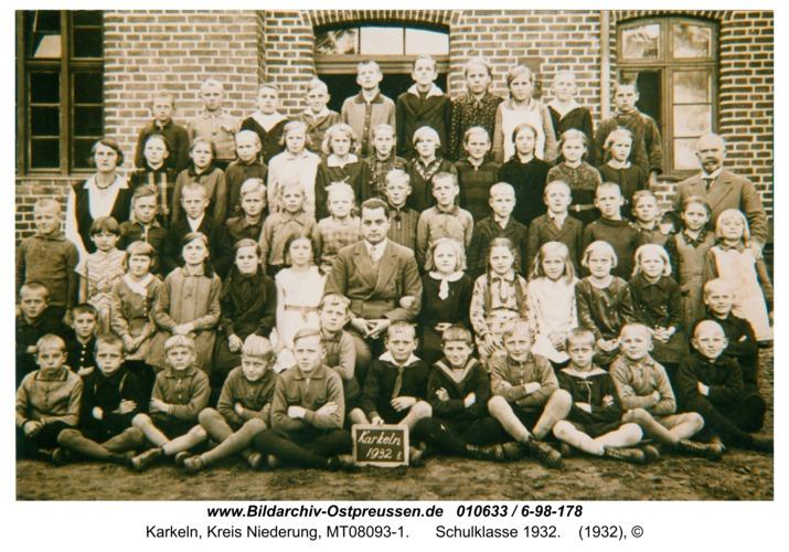 Karkeln, Schulklasse 1932