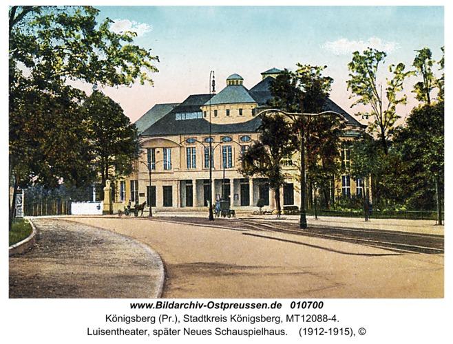 Königsberg, Luisentheater, später Neues Schauspielhaus