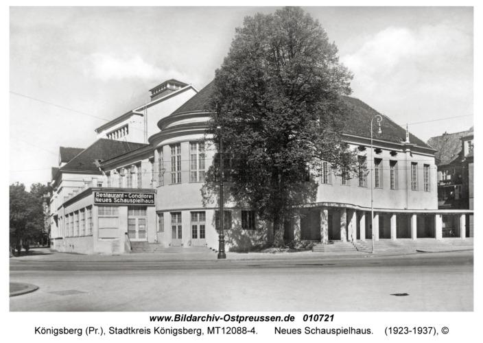 Königsberg, Neues Schauspielhaus