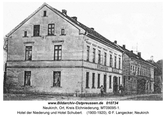 Neukirch, Hotel der Niederung und Hotel Schubert