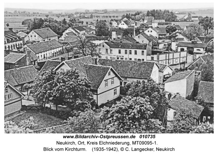 Neukirch, Blick vom Kirchturm