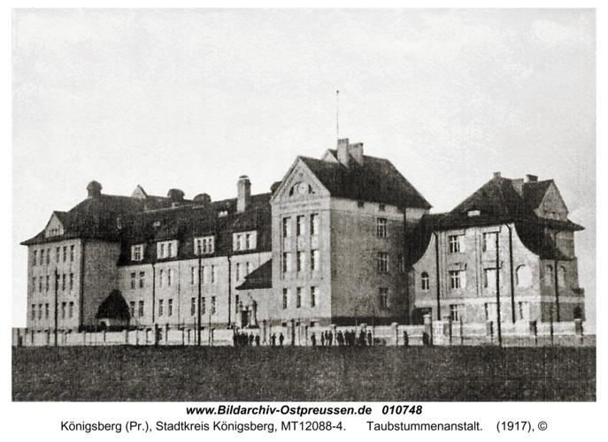 Königsberg, Taubstummenanstalt