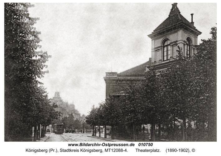 Königsberg, Theaterplatz