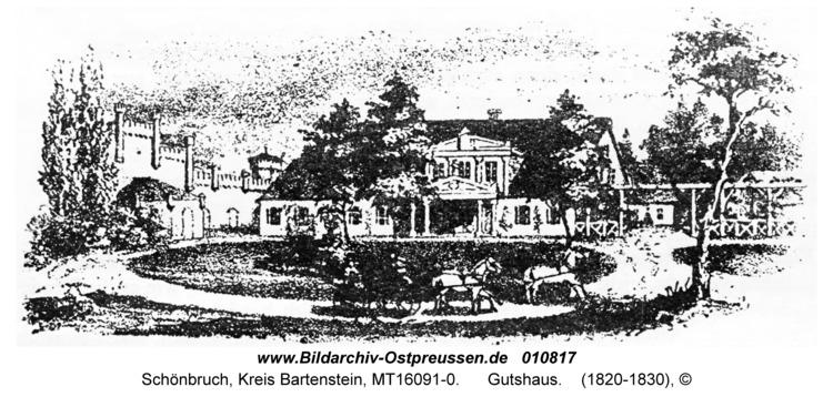 Schönbruch Kr. Bartenstein, Gutshaus