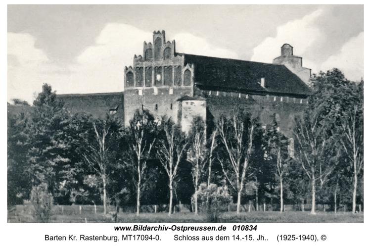 Barten, Schloss aus dem 14.-15. Jh.