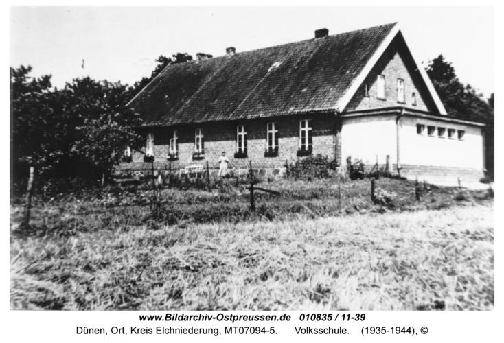 Dünen, Volksschule