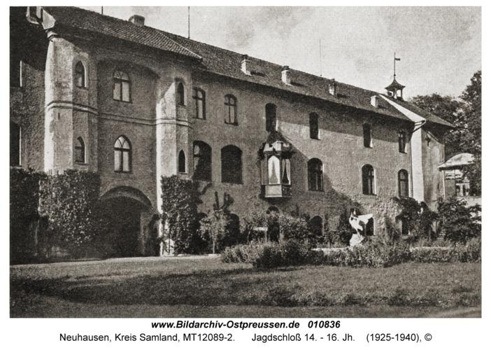 Neuhausen Kr. Samland, Jagdschloss 14. - 16. Jh