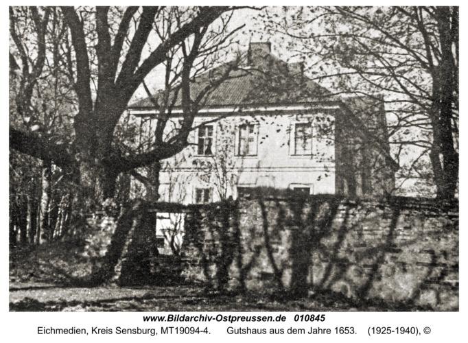 Eichmedien, Gutshaus aus dem Jahre 1653