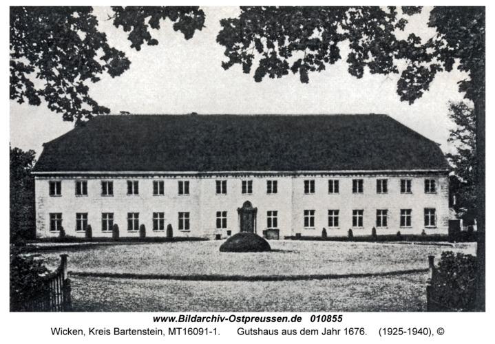 Wicken, Gutshaus aus dem Jahr 1676
