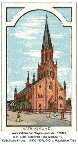 Tilsit, Katholische Kirche