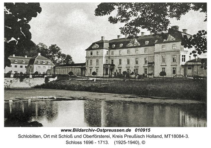 Schlobitten, Schloss 1696 - 1713