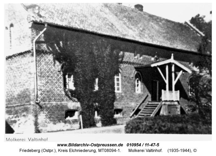 Friedeberg, Molkerei Valtinhof