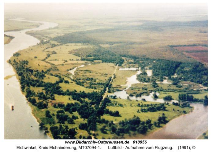 Elchwinkel, Luftbild - Aufnahme vom Flugzeug