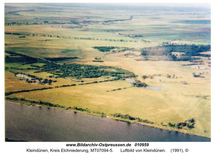 Kleindünen, Luftbild von Kleindünen