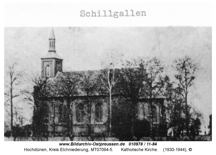 Hochdünen, Katholische Kirche