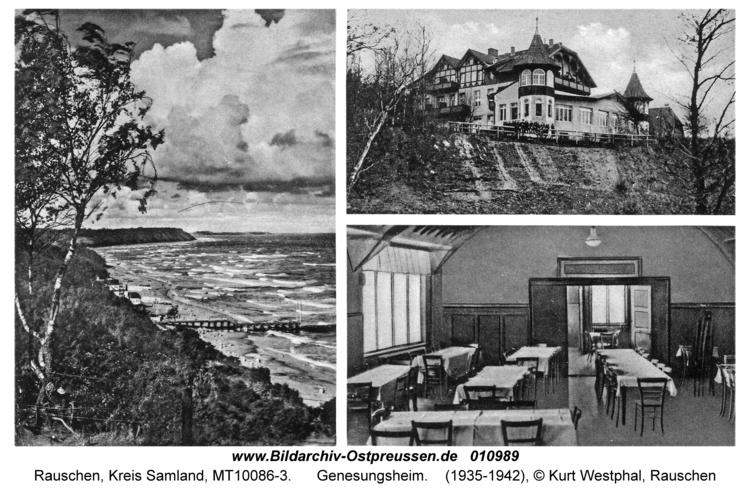 Rauschen Kr. Samland, Genesungsheim