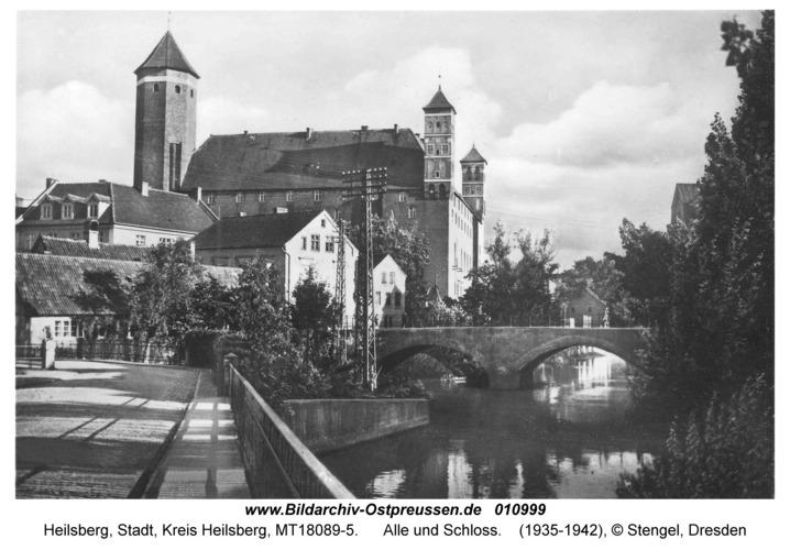 Heilsberg, Alle und Schloss