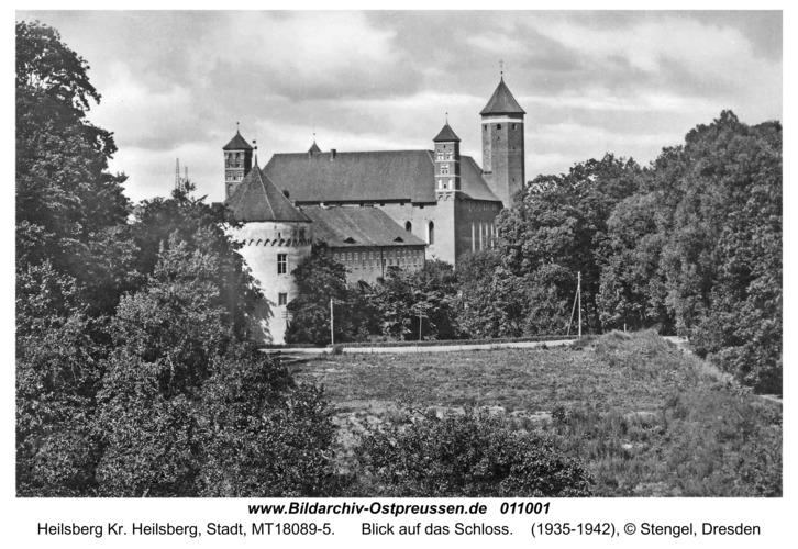 Heilsberg, Blick auf das Schloss