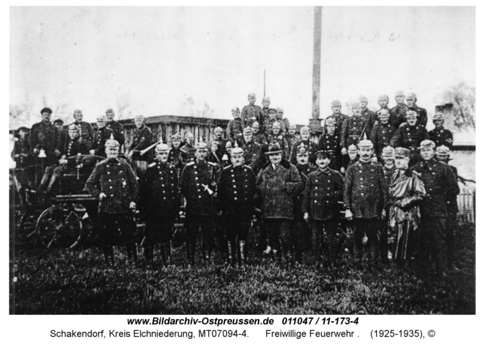 Schakendorf, Freiwillige Feuerwehr
