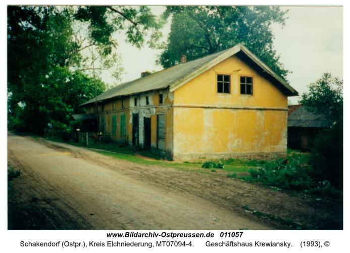 Schakendorf, Geschäftshaus Krewiansky