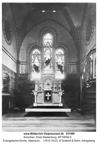 Korschen, Evangelische Kirche, Altarraum