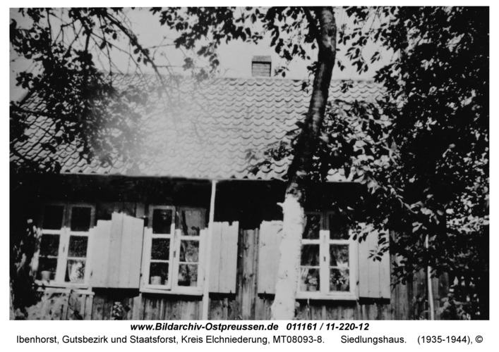 Ibenhorst, Siedlungshaus