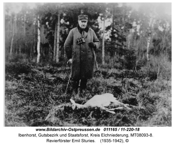 Ibenhorst, Revierförster Emil Sturies