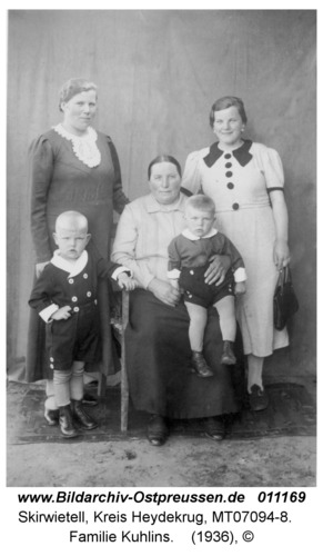 Skirwietell, Familie Kuhlins