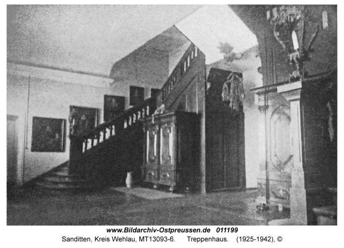 Sanditten, Treppenhaus