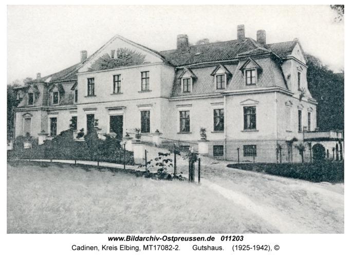 Cadinen, Gutshaus