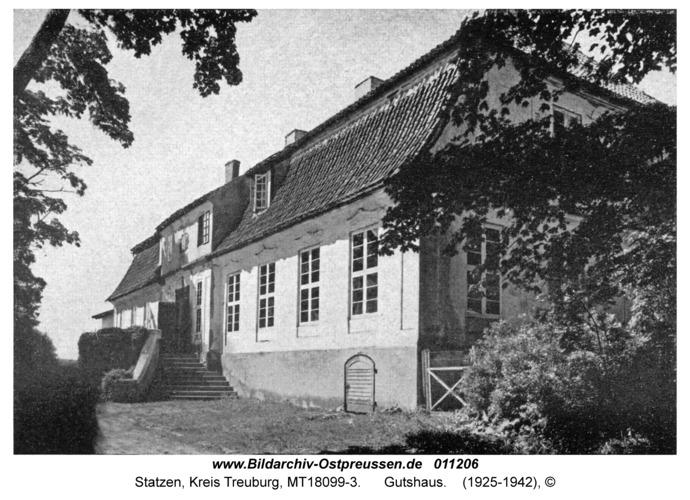 Statzen Kr. Treuburg, Gutshaus