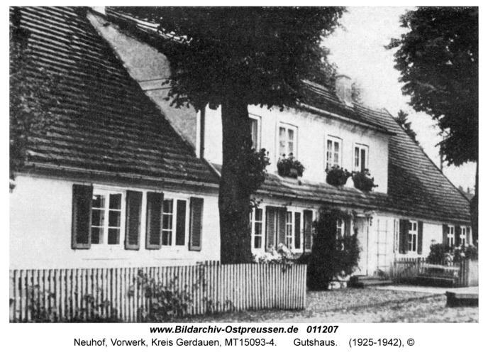 Neuhof Kr. Gerdauen, Gutshaus