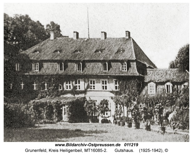 Grunenfeld, Gutshaus