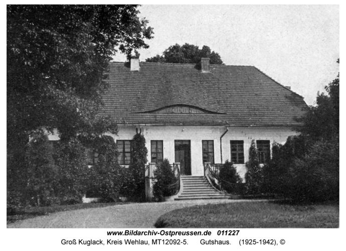 Groß Kuglack, Gutshaus