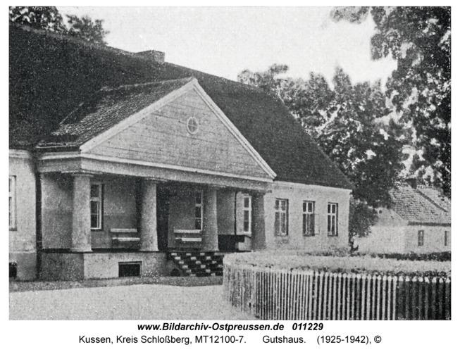 Kussen, Gutshaus