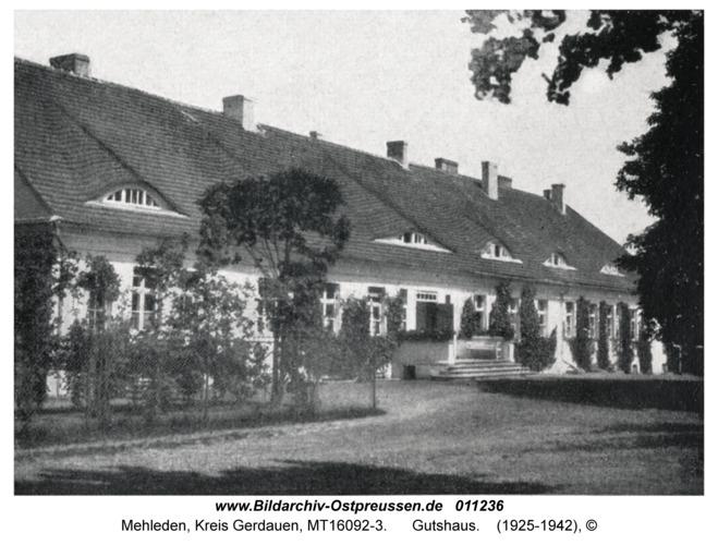 Mehleden, Gutshaus