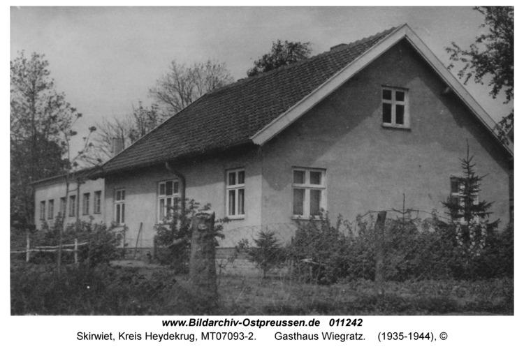 Skirwiet, Gasthaus Wiegratz