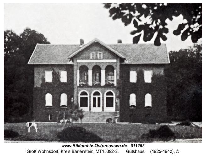 Groß Wohnsdorf, Gutshaus