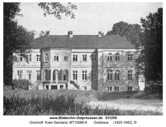 Grünhoff, Gutshaus