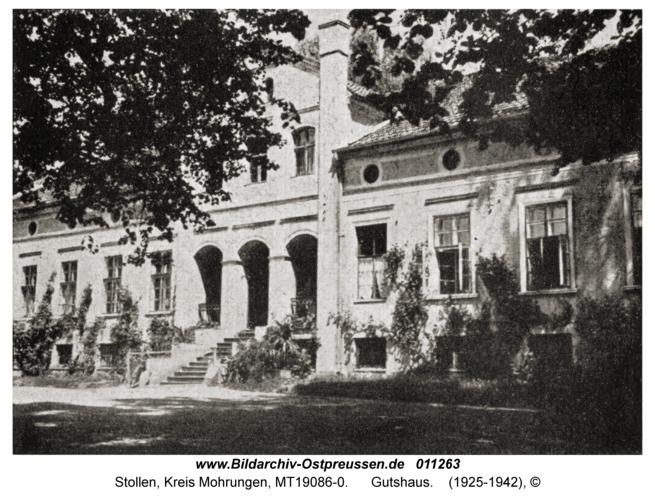 Stollen Kr. Mohrungen, Gutshaus