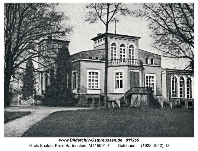 Groß Saalau, Gutshaus