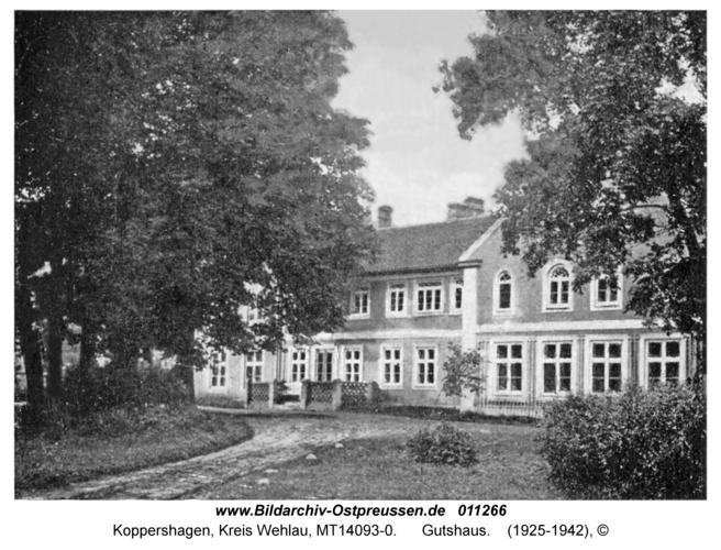 Koppershagen, Gutshaus