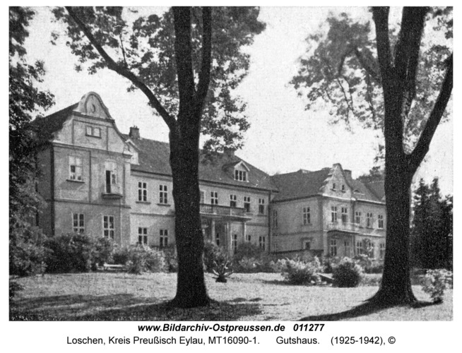 Loschen, Gutshaus